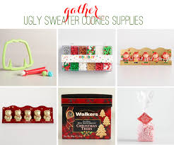 sweater cookies supplies at world market the celebration shoppe
