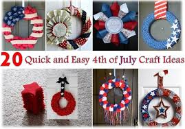 4th Of July Decoration Ideas 20 Quick And Easy 4th Of July Craft Ideas Home Design Garden