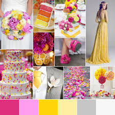 Purple And Orange Color Scheme Spring Wedding Color Palette U2014 Go Bespoke