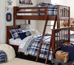 Kendall TwinOverFull Bunk Bed Pottery Barn Kids Kids Room - Double and twin bunk bed