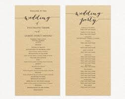 diy wedding program templates wedding program templates wedding templates and printables