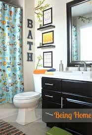 Boys Bathroom Decorating Ideas Bathroom Makeover Kid Bathrooms Small Bathroom And Wall Decor
