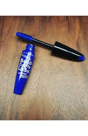 la colors bold color lash mascara in electric blue