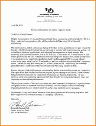 letter of recommendation for college letter of recommendation for