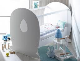 chambre roumanoff chambre bébé lit plexiglas lutin blanc chambrekids