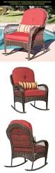 Wicker Outdoor Rocking Chairs Best 25 Wicker Rocking Chair Ideas On Pinterest Porch Furniture