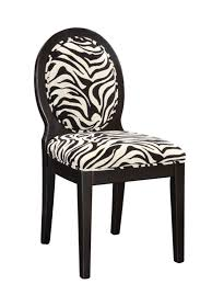 Animal Print Desk Chair Zebra Accent Chair Zebra Occasional Chair Zebra Side Chairs
