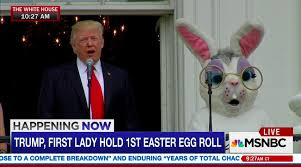 scrambled memes and tweets from trump s first easter egg roll nj com