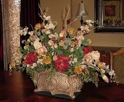 coffee table floral arrangements dining room table floral centerpieces