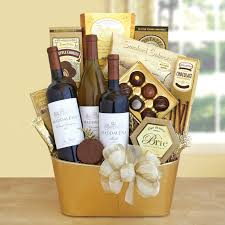 wine and cheese gift baskets tasting and toasting wine gift basket hayneedle