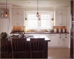 Craftsman Style Kitchen Lighting Wood Raised Door Chestnut Craftsman Style Kitchen Cabinets
