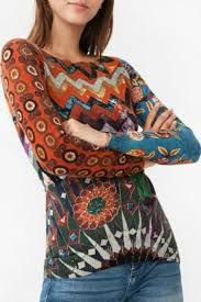 desigual stay with me sweater from hawaii by hurricane limited