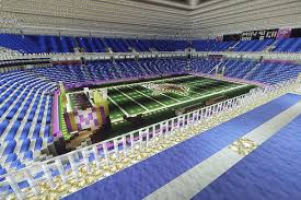 minecraft sports stadium under the dome a minecraft replication daily norseman
