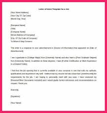 Resume Letter Of Intent Letter Of Intent For A Job Bio Letter Format
