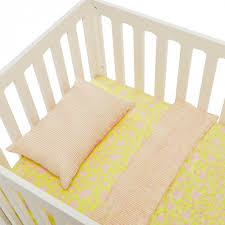 bollywood yellow crib bedding