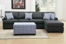 Sectional Sofa Chaise Lounge Charcoal Gray Sectional Sofa With Chaise Lounge Decor Homes