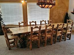 dining table furniture unique and artistic trestle dining table