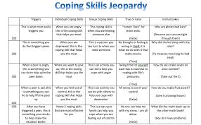 recreation therapy to create a better life coping skills jeopardy