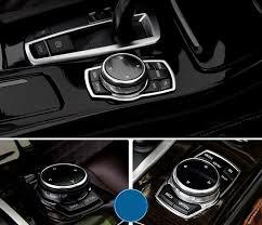 bmw blue interior silver blue interior front center console buttons trim metal