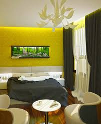 Yellow Gray Curtains Yellow And Grey Bedroom Grey And Yellow Colour Schemes Bedroom