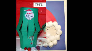 preschool christmas craft ideas youtube