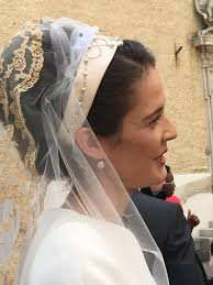 robe de la mã re de la mariã e mariage religieux de magdalena de tornos et du comte jean d