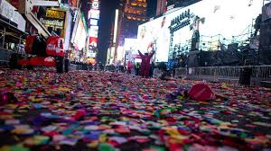 what it takes to clean up times square after nye