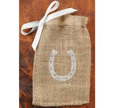 burlap favor bags horseshoe burlap favor bags favor bags favor packaging