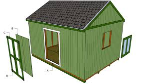 Plans For Garden Sheds by Double Shed Door Plans Myoutdoorplans Free Woodworking Plans