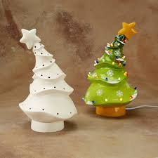 ceramic tree ornaments to paint things