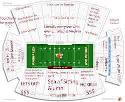 Arizona Stadium Map by Judgmental Seating Chart Of Lane Stadiumthe Black Sheep