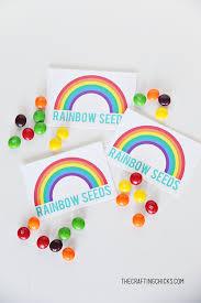 Rainbow Seeds Free Printable The Crafting