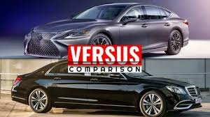 lexus ls400 vs audi a8 2018 mercedes s class vs lexus ls 500 luxury flagship battle