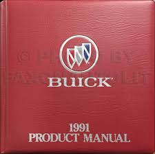 1991 buick regal repair shop manual original