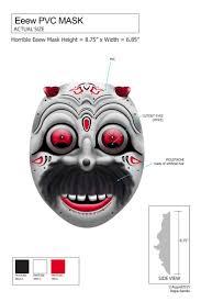 halloween mask cutouts 73 best halloween masks design images on pinterest halloween