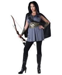 katniss costume huntress katniss womens plus size costume costumes