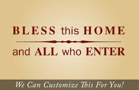 bless this home and all who enter a wall decor vinyl lettering bless this home and all who enter a wall decor vinyl lettering decal sticker word graphic 2156