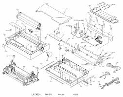 epson fx 2170 parts catalogue