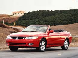 2002 toyota camry solara information and photos zombiedrive