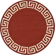 Round Area Rugs Contemporary by Modern Greek Design Border Area Rug Contemporary Large Soft Carpet
