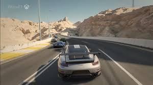xbox e3 dan greenawalt unveils 2018 porsche 911 gt2 rs to the