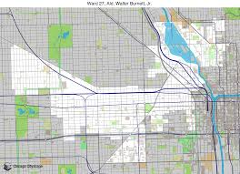 Map Of Chicago Wards by Map Of Building Projects Properties And Businesses In 27th Ward