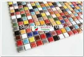 aliexpress com buy 1box 11sheets colorful kitchen tiles glass