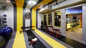 residential basement remodel bar and gym best home gym