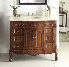 adelina 48 inch traditional old fashioned look bathroom vanity