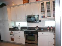 interior design exciting granite countertop with white kraftmaid