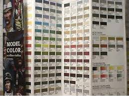 vallejo na 1 model color colour chart