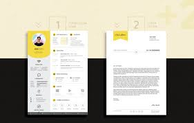 Best Resume Templates With Photo by Free Professional Resume Cv Design Template With Cover Letter