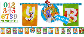 Cat In The Hat Table Centerpieces by Dr Seuss Party Supplies Dr Seuss Birthday Party City