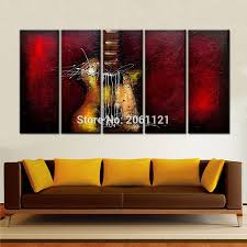 Home Wall Painting by Online Buy Wholesale Music Oil Painting From China Music Oil